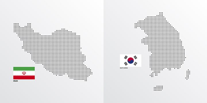 blog image IRAN & SOUTH KOREA